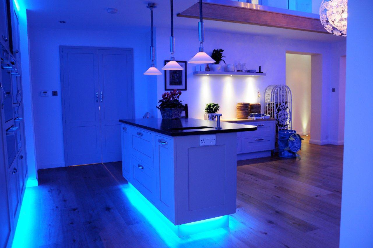 Blue-LED lighting